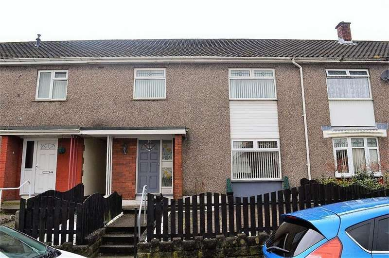 3 Bedrooms Terraced House for sale in Pentretreharne Road, Swansea, SA1
