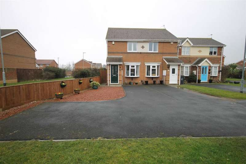 2 Bedrooms Semi Detached House for sale in Brunel Close, Hartlepool