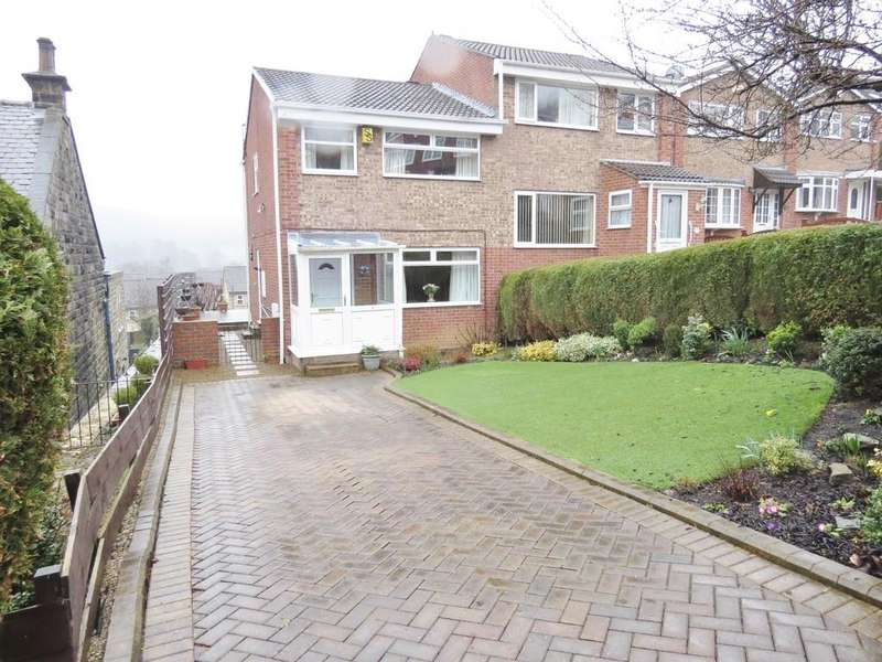 3 Bedrooms Semi Detached House for sale in Church Close, Oughtibridge, Sheffield