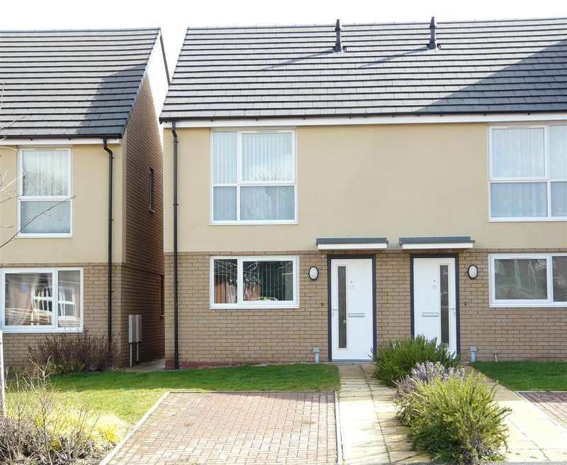 2 Bedrooms Semi Detached House for rent in Goodrich Grove, Hereford, HR2