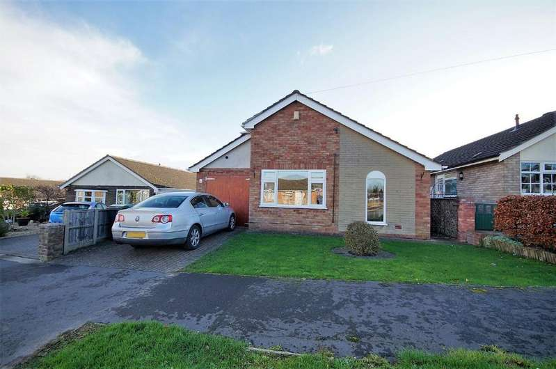 2 Bedrooms Detached Bungalow for sale in Highfields Rise, Metheringham, Lincoln