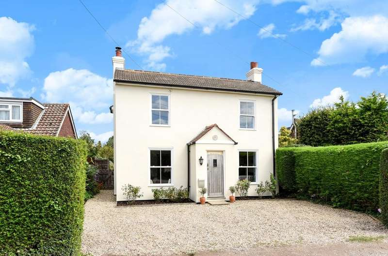 4 Bedrooms Detached House for sale in Cemetery Lane, Woodmancote, Woodmancote, PO10