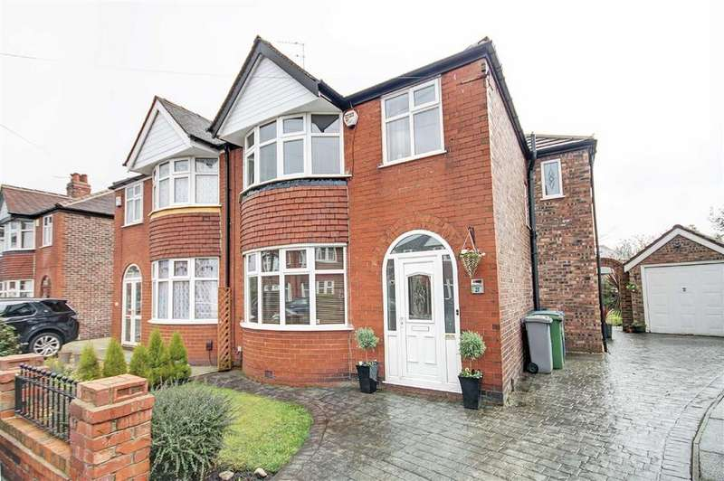 4 Bedrooms Semi Detached House for sale in Brookfield Drive, Timperley, Cheshire