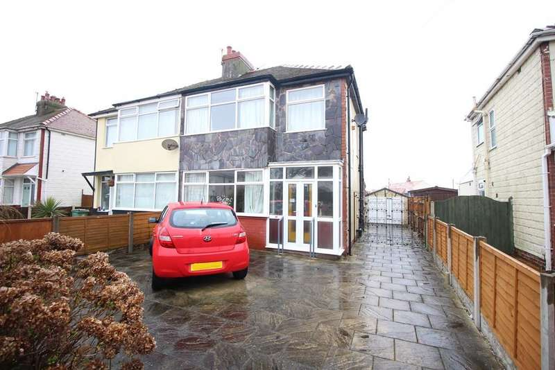 3 Bedrooms Semi Detached House for sale in Cumberland Avenue, Thornton-Cleveleys
