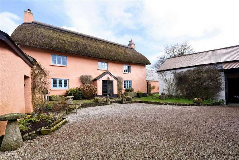 4 Bedrooms Detached House for sale in Beaford, Winkleigh, Devon, EX19