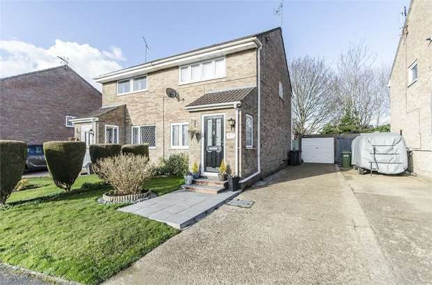 2 Bedrooms Semi Detached House for sale in Selwyn Gardens, Boyatt Wood, EASTLEIGH, Hampshire