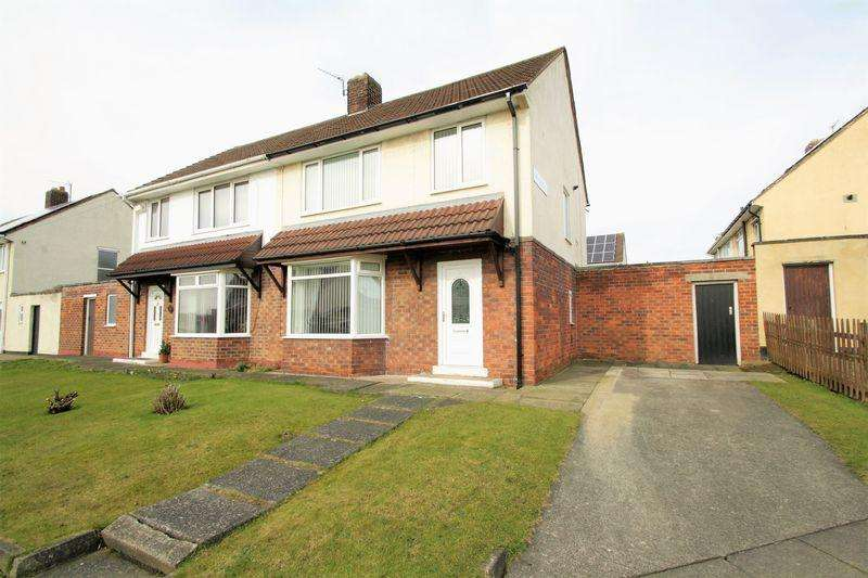 3 Bedrooms Semi Detached House for sale in Rathnew Avenue, Roseworth, Stockton-On-Tees, TS19 9NL