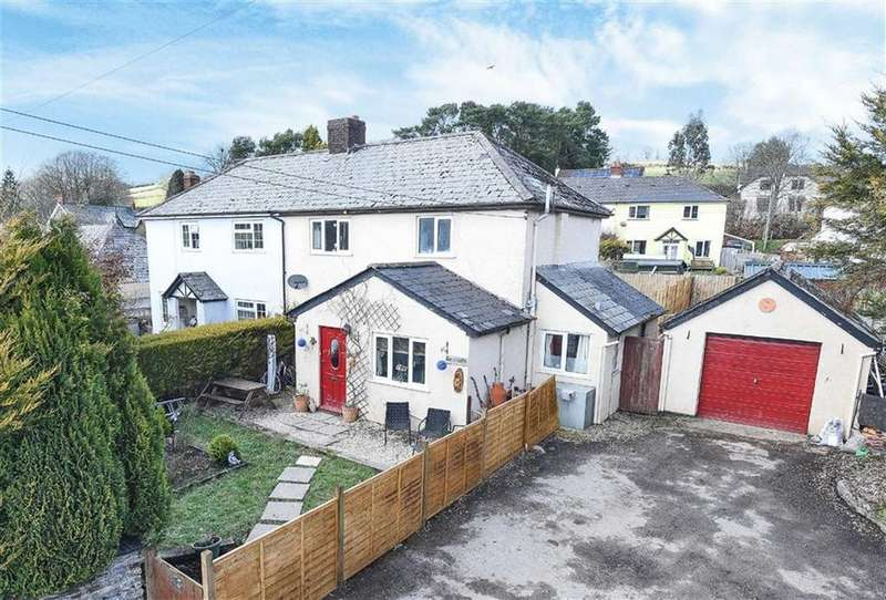 3 Bedrooms Semi Detached House for sale in Nicholas Close, Brushford, TA22