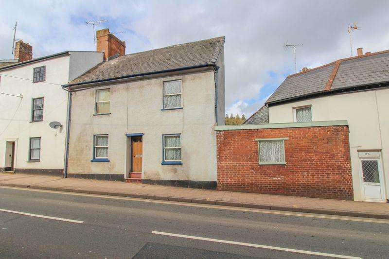 3 Bedrooms Terraced House for sale in High Street, Crediton