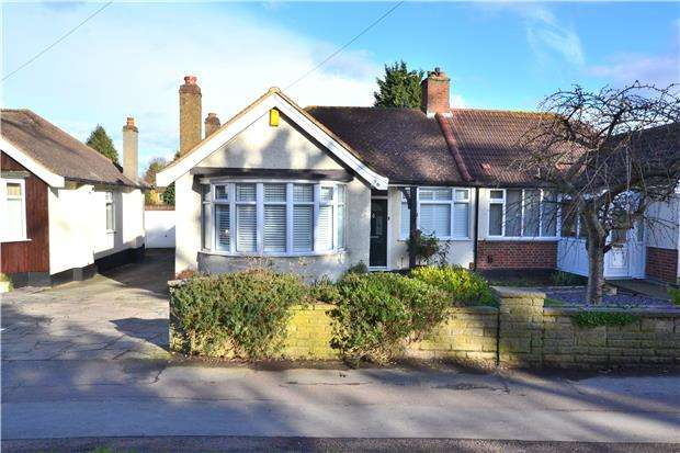 3 Bedrooms Semi Detached Bungalow for sale in Plough Lane, WALLINGTON, Surrey, SM6 8JQ
