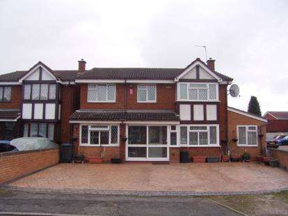 5 Bedrooms Detached House for sale in Johnson Close, Ward End, Birmingham, West Midlands