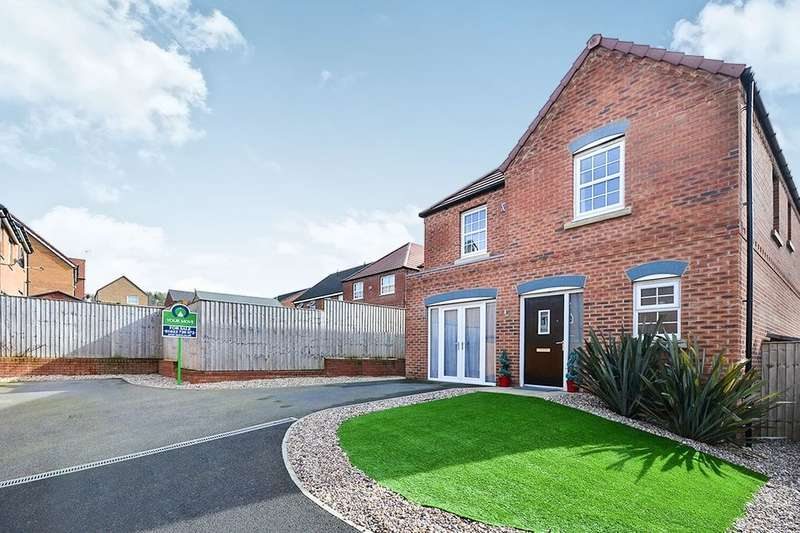 4 Bedrooms Detached House for rent in Parkland View, Huthwaite, Sutton-In-Ashfield, NG17