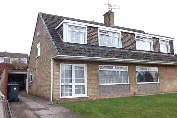 3 Bedrooms Semi Detached House for sale in Harwood Close, Arnold, Nottingham, NG5
