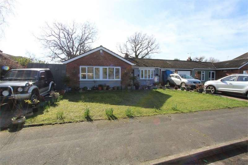 3 Bedrooms Detached Bungalow for sale in Weavers Close, Prettygate, Colchester, Essex