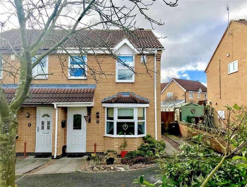 3 Bedrooms Semi Detached House for sale in Aspen Avenue, Loughborough, LE11