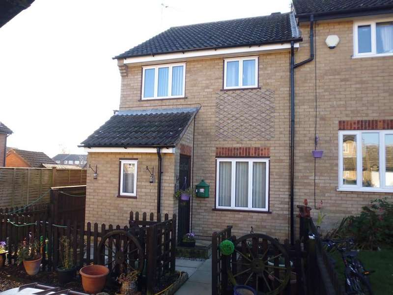 3 Bedrooms End Of Terrace House for sale in Flatford Close, Stowmarket