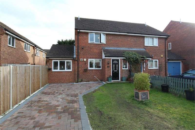 2 Bedrooms Semi Detached House for sale in Montgomery Close, Colchester, Essex