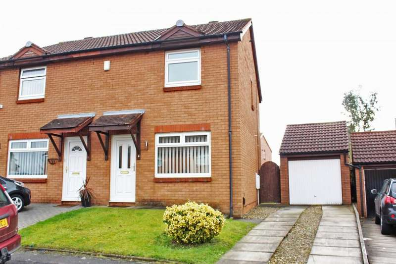 3 Bedrooms Semi Detached House for sale in Heworth Drive, Norton, TS20