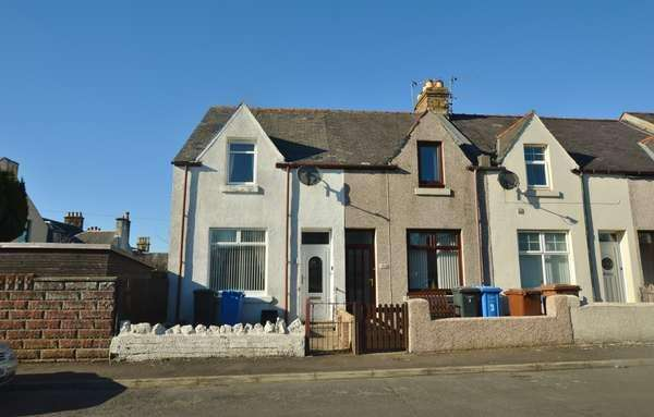 2 Bedrooms End Of Terrace House for sale in 1 Hamilton Street, Kilwinning, KA13 7AG