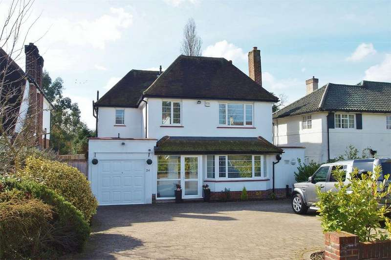 4 Bedrooms Detached House for sale in Hayes Way, Park Langley, Beckenham