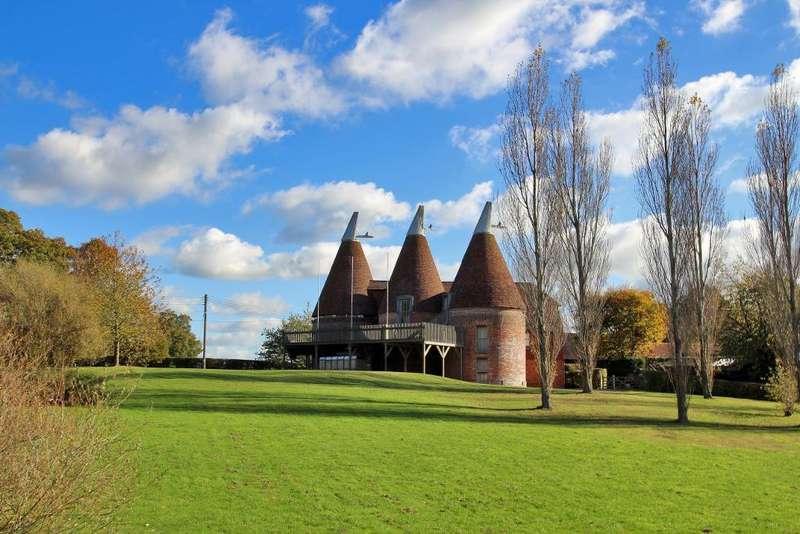 8 Bedrooms Detached House for sale in Brick Kiln Lane, Horsmonden, Kent, TN12 8EJ