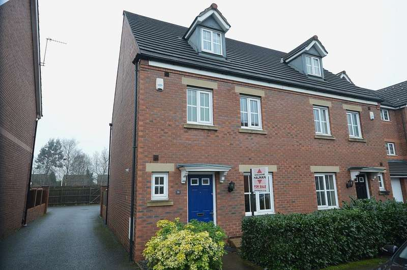 4 Bedrooms Semi Detached House for rent in Kennett Drive, Bredbury