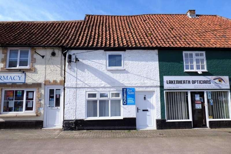 2 Bedrooms Terraced House for sale in High Street, Lakenheath