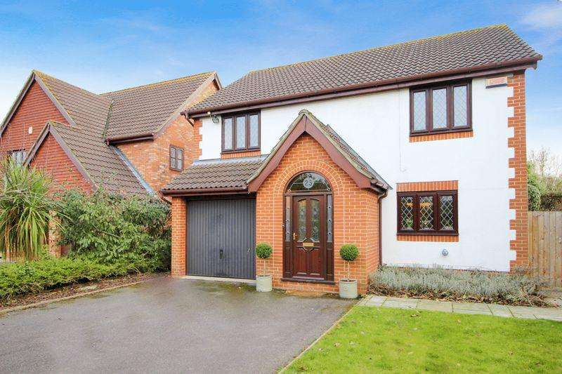 4 Bedrooms Detached House for sale in Hemmings Close, Sidcup, DA14 4JR