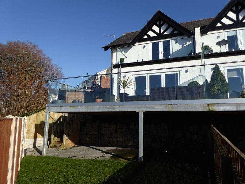 3 Bedrooms Semi Detached House for sale in Y Felinheli