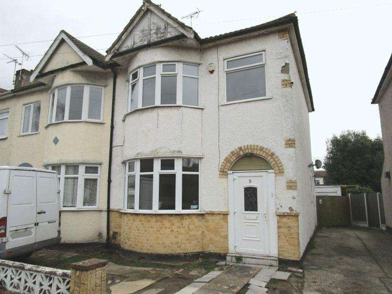 3 Bedrooms End Of Terrace House for sale in Stanfield Road, Southend-On-Sea