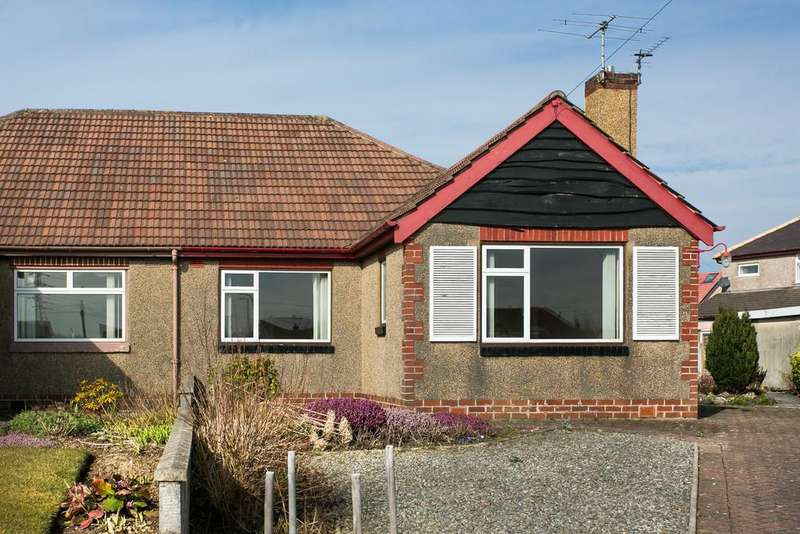 3 Bedrooms Semi Detached Bungalow for sale in 4 Heaton Close, Torrisholme, Morecambe LA3 3AN
