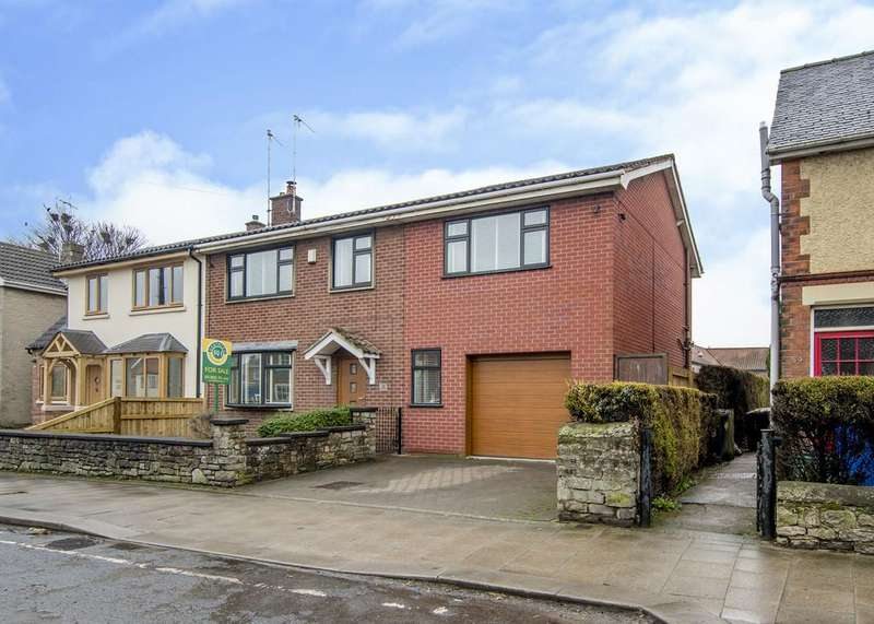 4 Bedrooms Semi Detached House for sale in Castlegate, Tickhill
