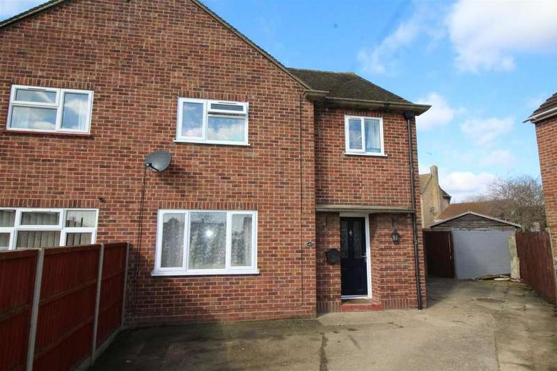 3 Bedrooms Semi Detached House for sale in Reeves Way, Peterborough