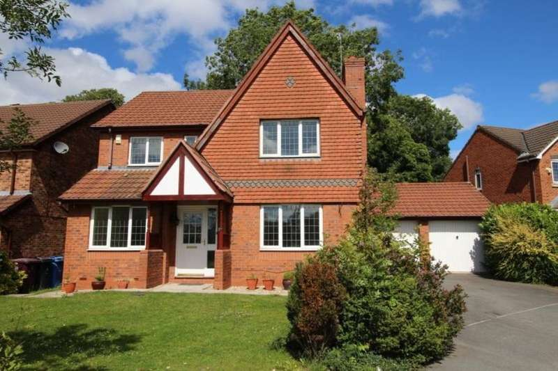 4 Bedrooms Detached House for sale in Blenheim Drive, Prescot, L34