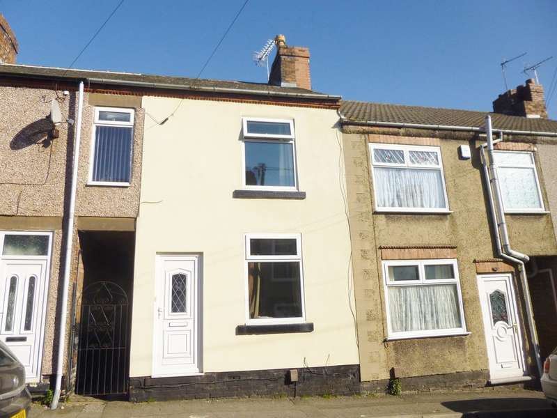 2 Bedrooms Terraced House for sale in Queen Street, Pinxton, Nottinghamshire NG16