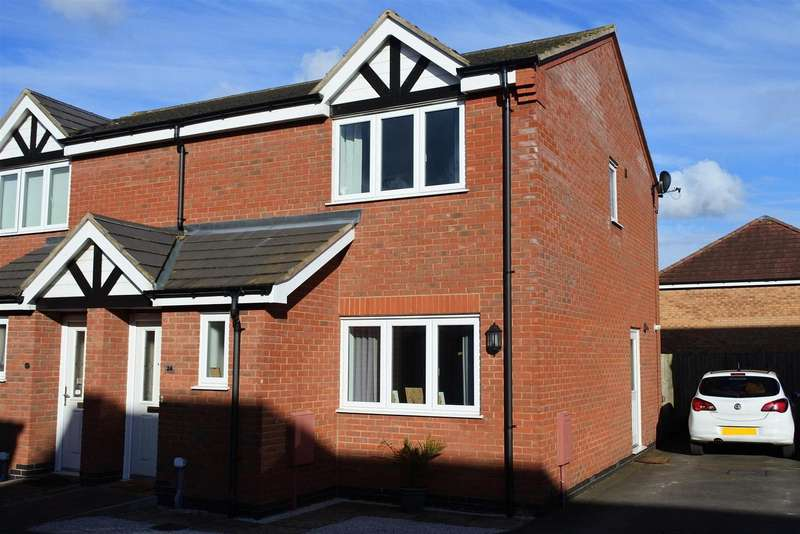 3 Bedrooms Detached House for sale in Woodbrook, Grantham