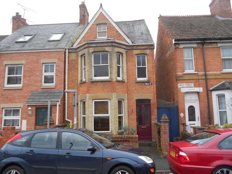 4 Bedrooms Semi Detached House for rent in Beer Street, Yeovil BA20