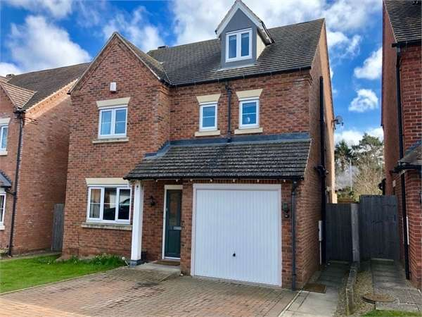 4 Bedrooms Detached House for sale in College Gardens, Shrewsbury, Shropshire