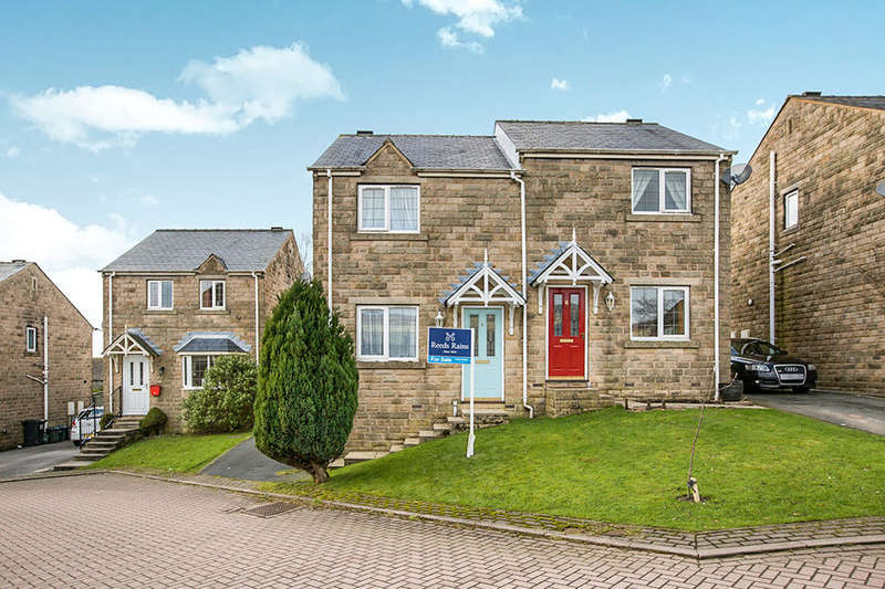 2 Bedrooms Semi Detached House for sale in Chiserley Gardens, Wadsworth, Hebden Bridge, HX7