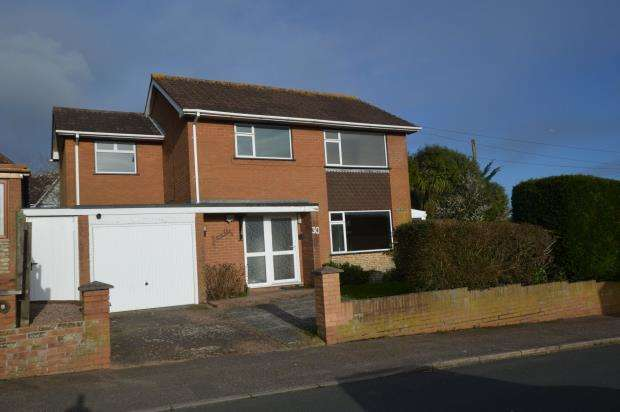 4 Bedrooms Detached House for sale in York Close, Exmouth, Devon