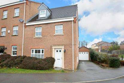 4 Bedrooms End Of Terrace House for sale in Garden Walk, Rotherham, South Yorkshire