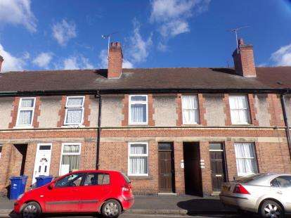 Terraced House for sale in Gordon Street, Burton On Trent, Staffordshire