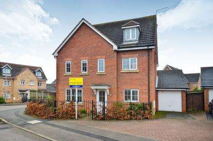 5 Bedrooms Detached House for sale in Waterfield Way, Clipstone Village, Mansfield