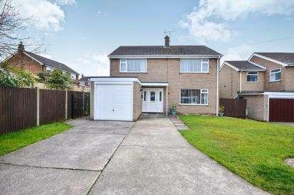 4 Bedrooms Detached House for sale in Derwent Close, Warsop, Mansfield, Nottinghamshire