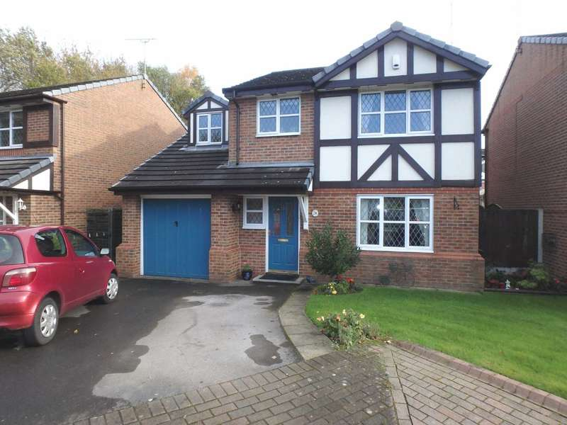 4 Bedrooms Detached House for sale in Woodthorn Close, Daresbury