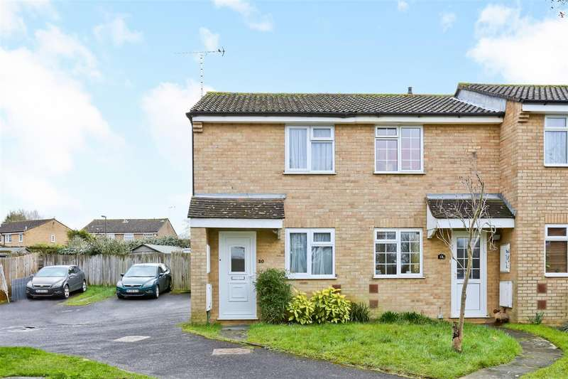 2 Bedrooms End Of Terrace House for sale in Faulkners Way, Burgess Hill