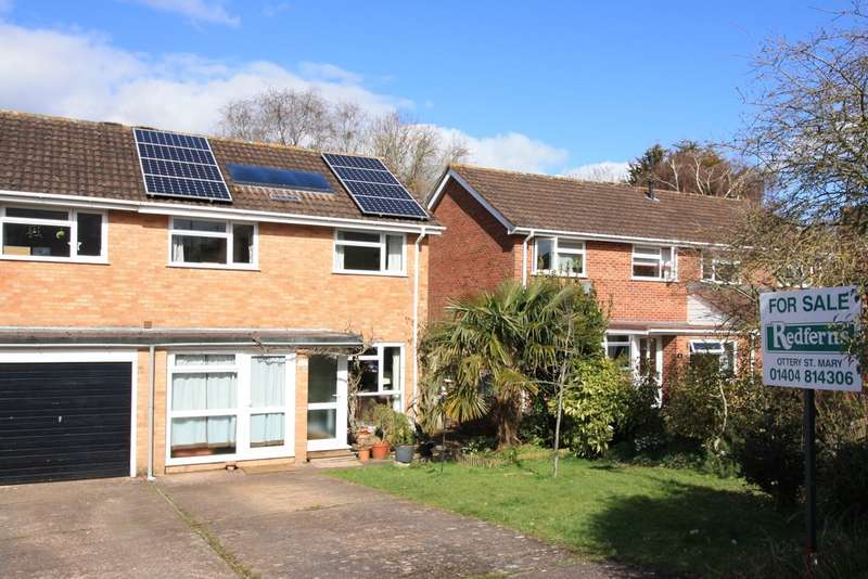 4 Bedrooms Semi Detached House for sale in Meadow Close, Ottery St Mary