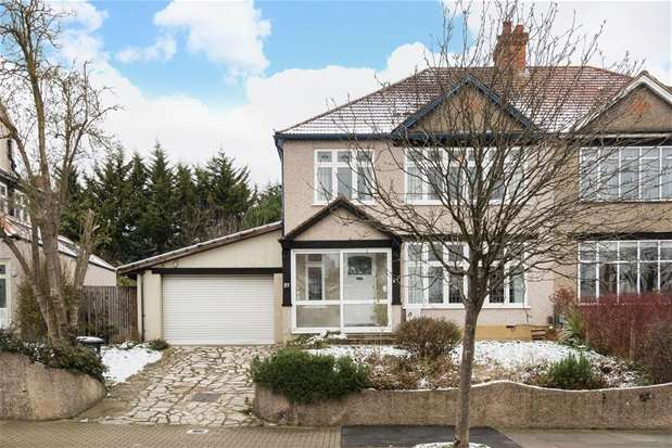 4 Bedrooms Semi Detached House for sale in Woodbastwick Road, Sydenham
