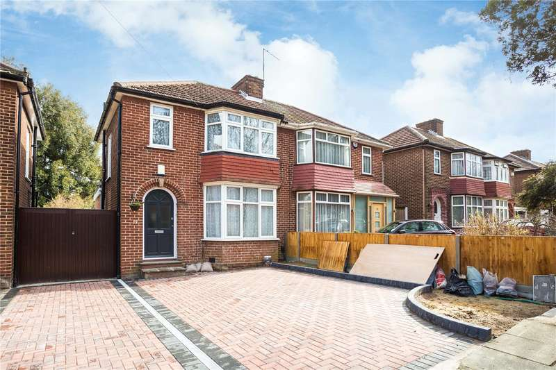 3 Bedrooms Semi Detached House for sale in Peareswood Gardens, Stanmore, HA7