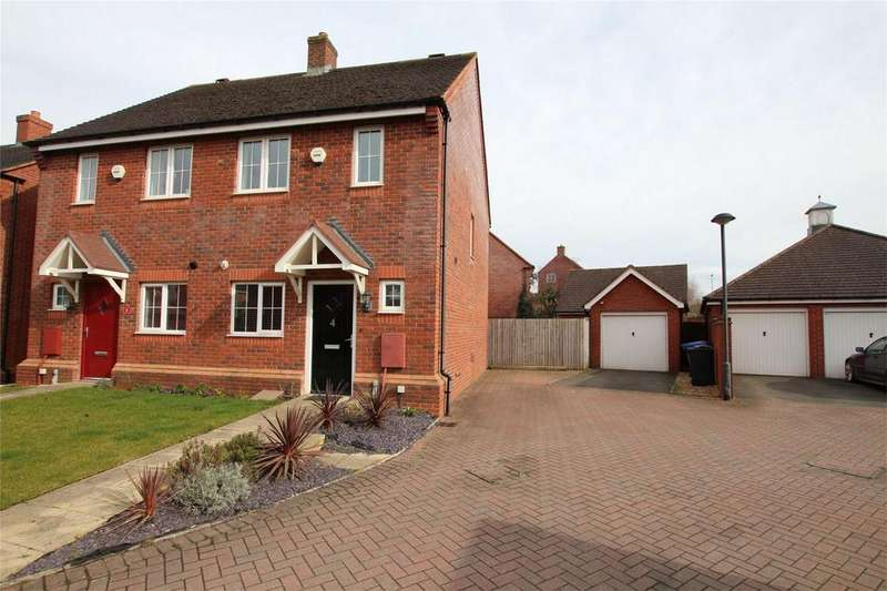 2 Bedrooms Semi Detached House for sale in Agincourt Road, Lichfield, Staffordshire